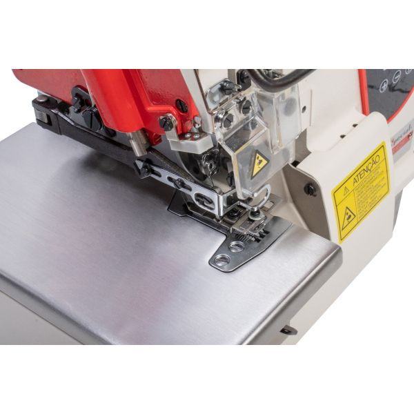 Máquina Costura Industrial Overlock Aparelho Elástico Zeromax 220v SS93D-LFC-PR-SU - Sun Special