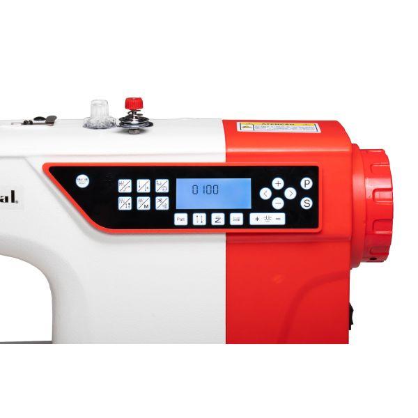 Máquina Reta Eletrônica Direct Drive Motor Passo Pontos Decorativos SS18E-D4-PR-QI - Sun Special