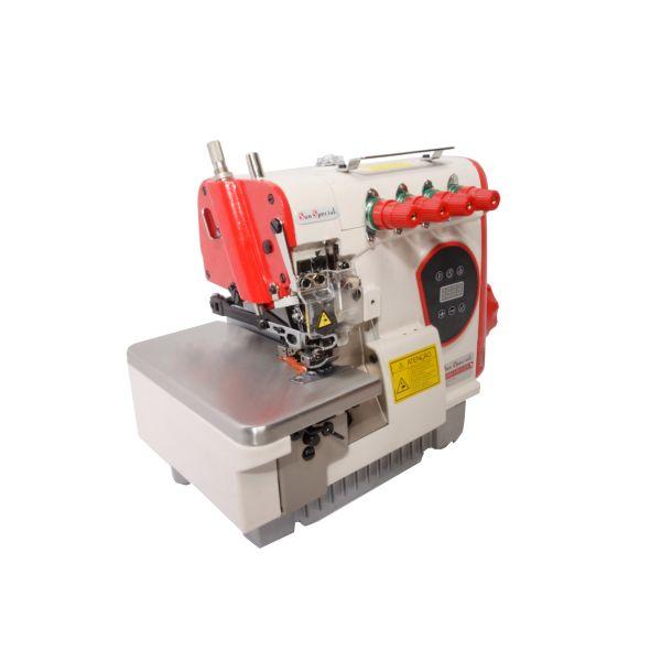Máquina Costura Interlok Industrial com Control Box Acoplado 110v SS95-PR-SU  - Sun Special