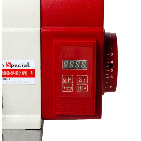 Máquina Costura Interlock Industrial com Control Box Acoplado 110v SS9905D-SP-BR - Sun Special
