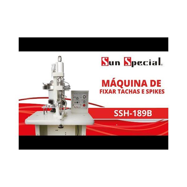 Máquina Fixar Tachas Spikes 220v SSH-189B - Sun Special